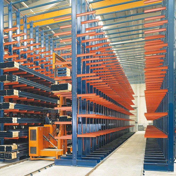 Warehouse Arm Racking Cantilever For Stone Storage