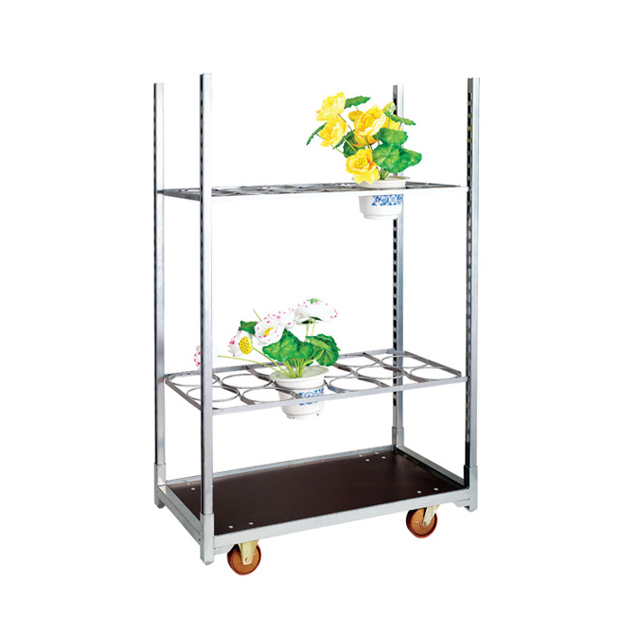 Danish Display Flower Trolley for Greenhouse
