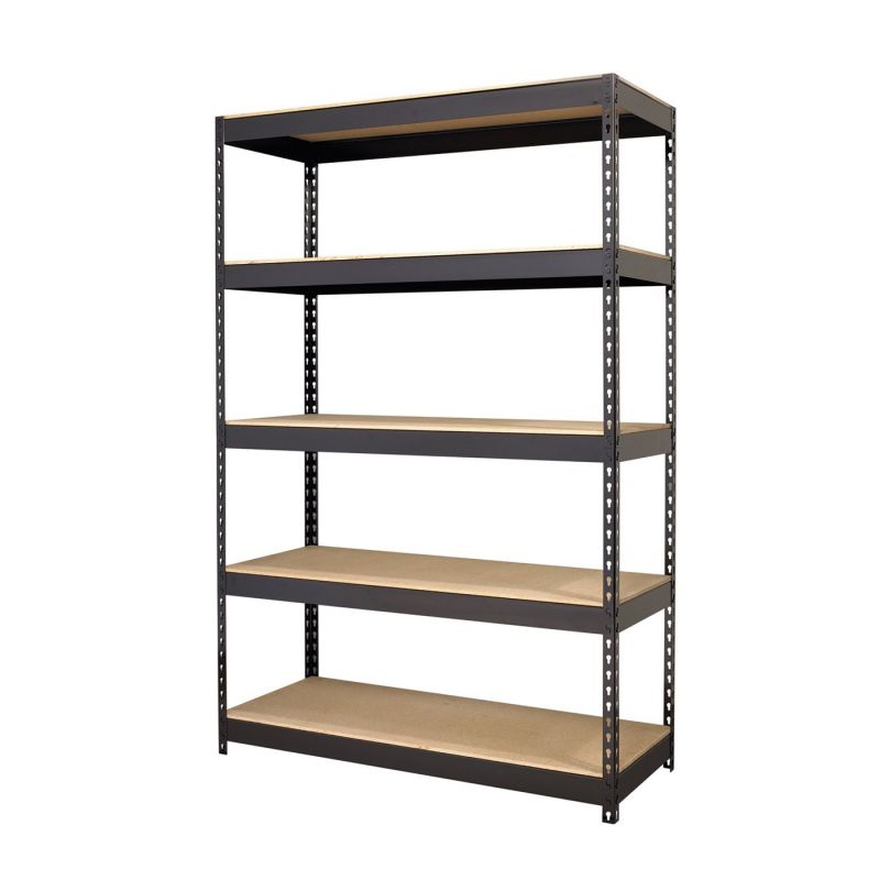 boltless rivet shelf