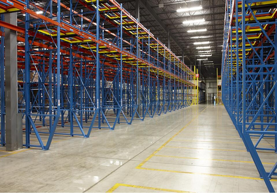 drive in for warehouse storage
